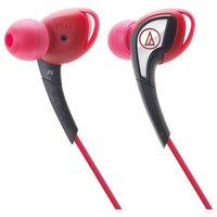 Audio Technica SonicSport ATHSPORT2 In-Ear Headphones - Red.