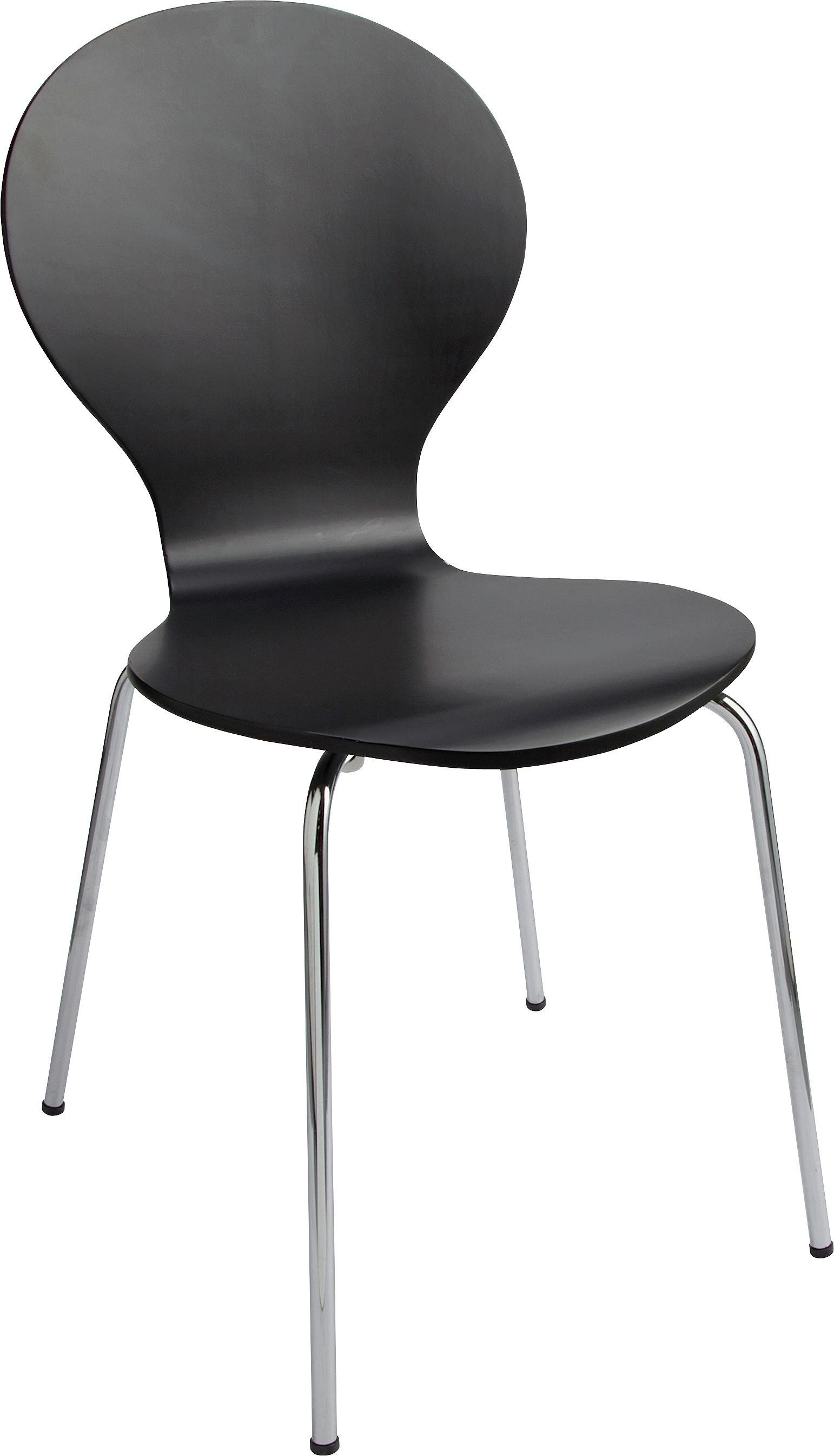 HOME Bentwood Dining Chair - Jet Black