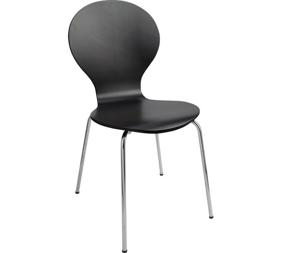 Buy ColourMatch Jet Black Bentwood Dining Chair at Argoscouk – Black Bentwood Chair