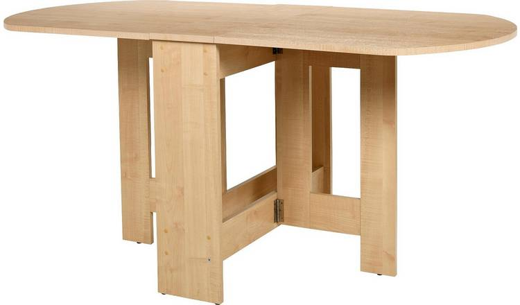 Argos Home Extending 4 - 6 Seater Table - Light Oak Effect