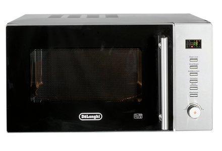 De'Longhi D90N30 900W Combination Microwave - S.Steel