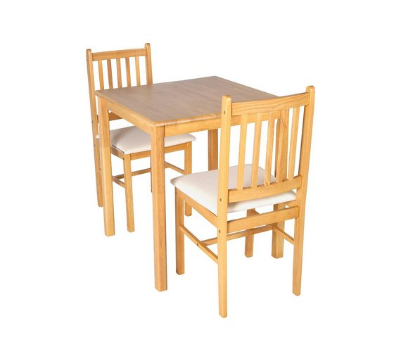 Buy HOME Kendall Square Solid Wood Table 2 Chairs