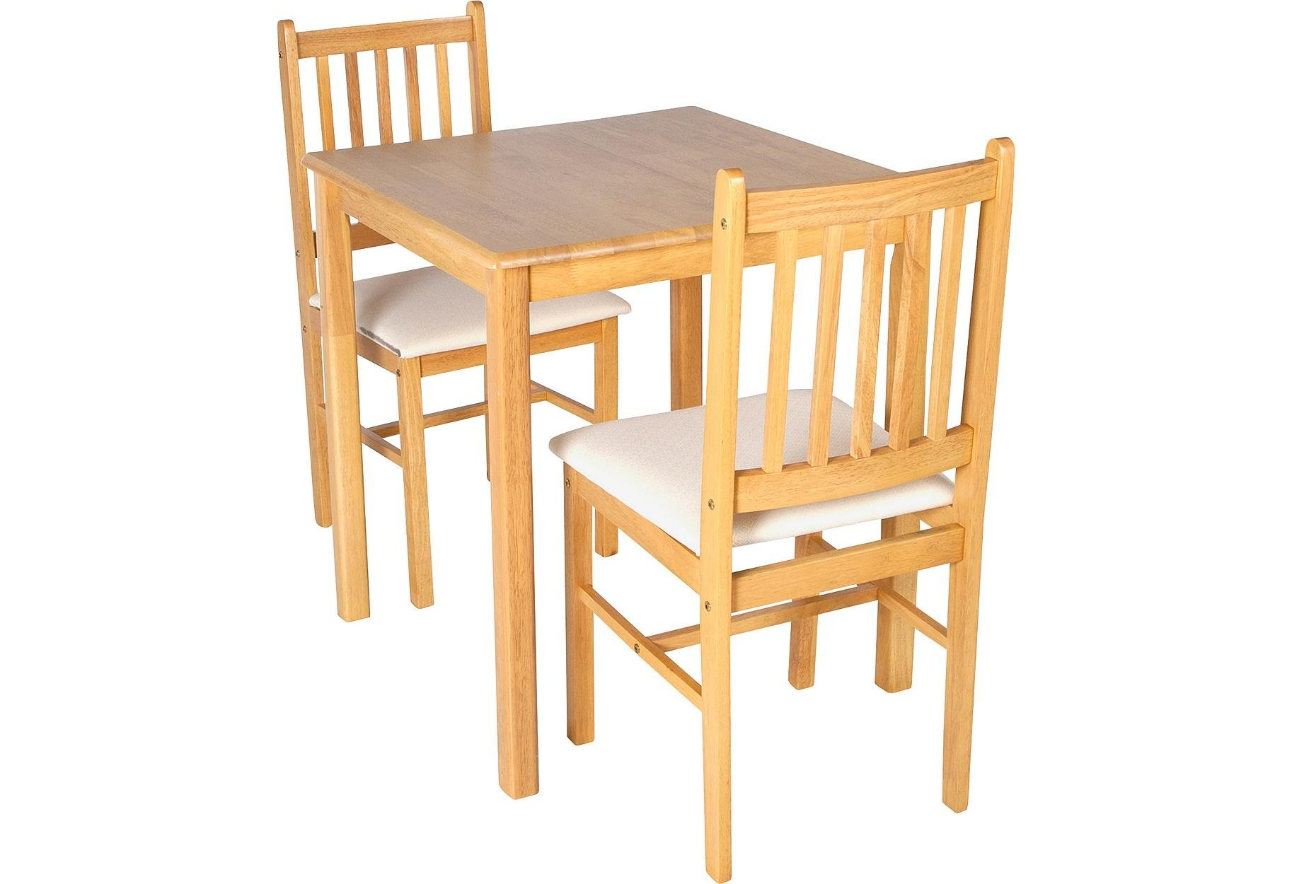 Buy HOME Kendall Square Solid Wood Table   Chairs - Cream at
