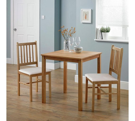 Buy Dining Room Furniture Online: Buy HOME Kendall Square Solid Wood Dining Table & 2 Chairs