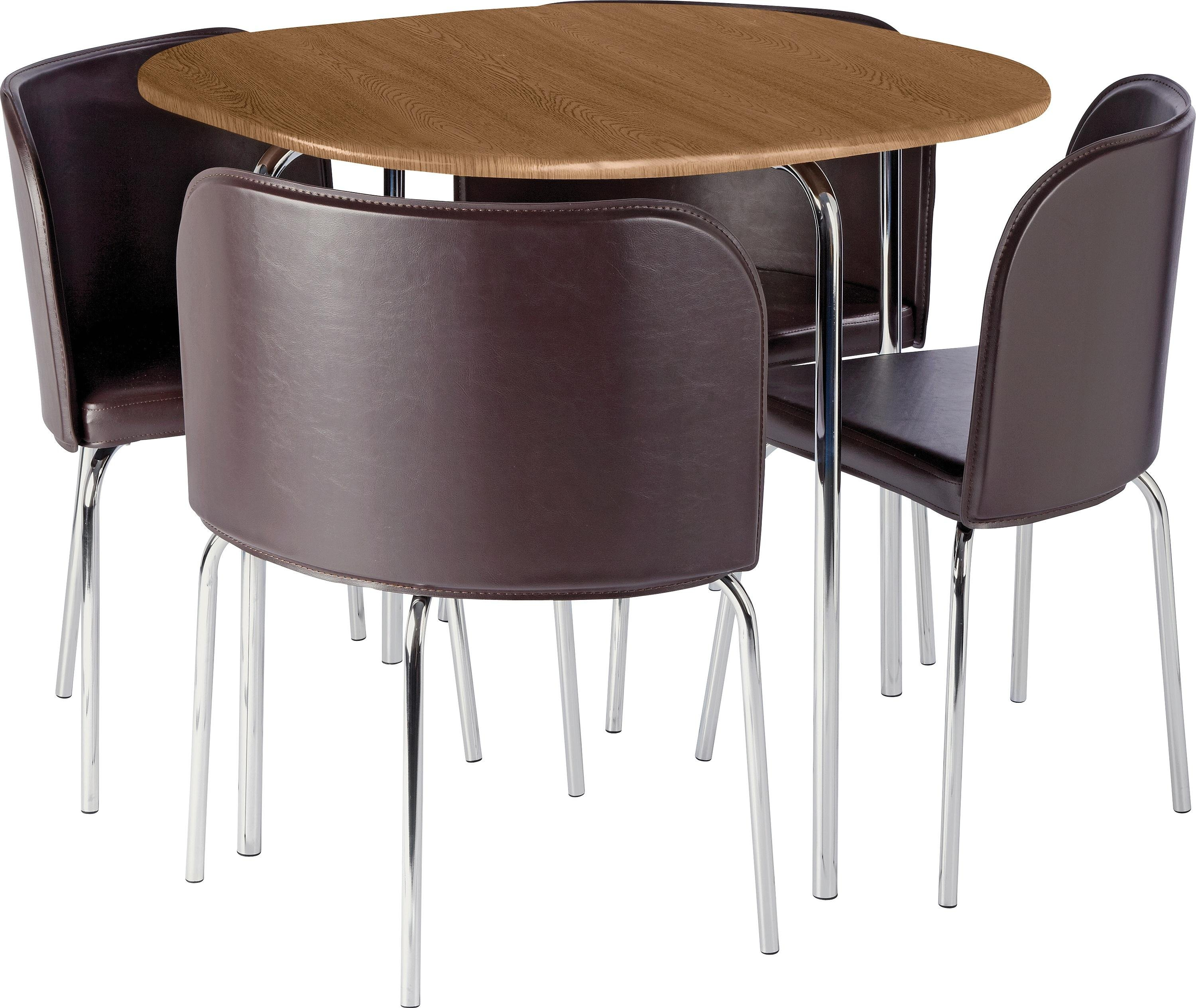 Hygena amparo oak effect dining table 4 chairs gay for 99 normal table