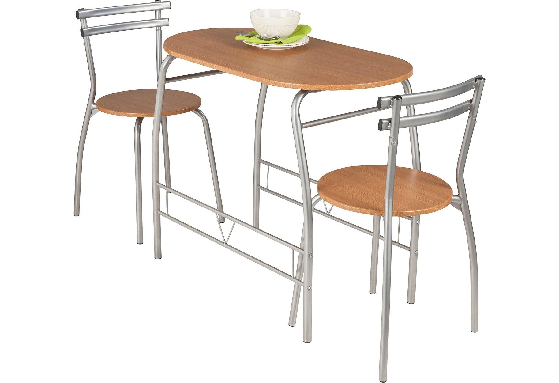 Buy HOME Vegas Oak Effect Dining Table   Chairs at Argos.uk
