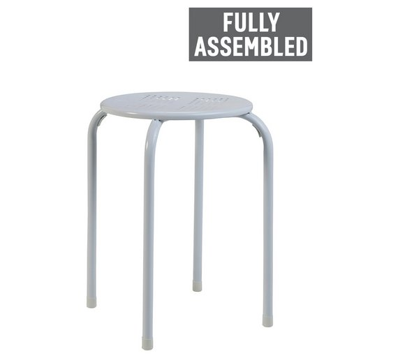 metal free counter carbon of garden stools product set inch loft stool tabouret home