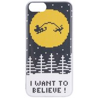 Flavr Ugly Xmas Sweater - Believe Apple - iPhone - 7 Case