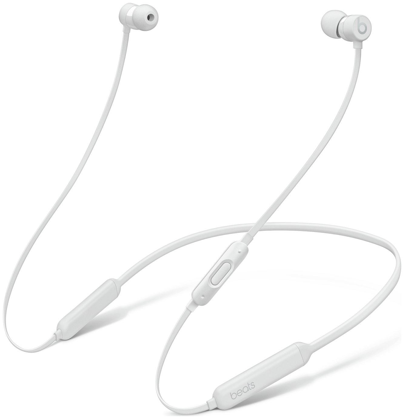 Image of Beats X In-Ear Wireless Earphones - White