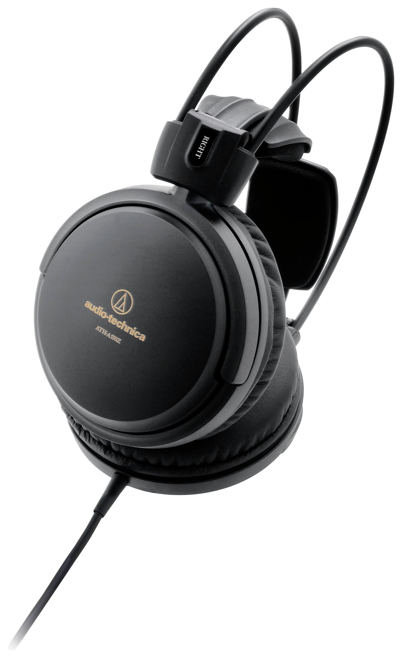Image of Audio Technica ATH-A550Z On-Ear Headphones - Black.