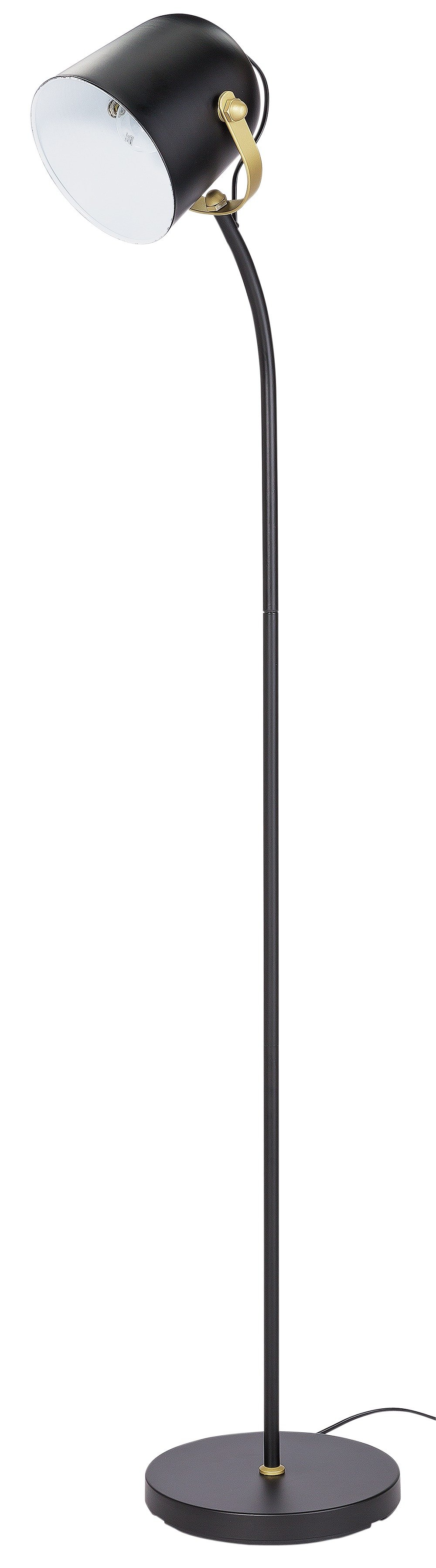 Image of Collection - Cooper Brass - Floor Lamp - Black