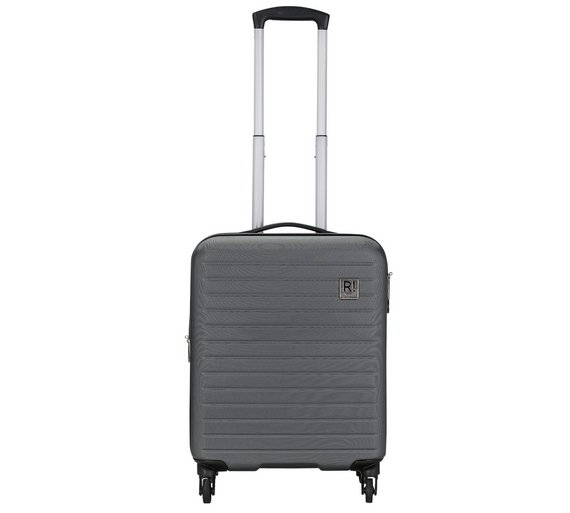Buy Revelation Dominica Small 4 Wheel Hard Suitcase - Charcoal at ...
