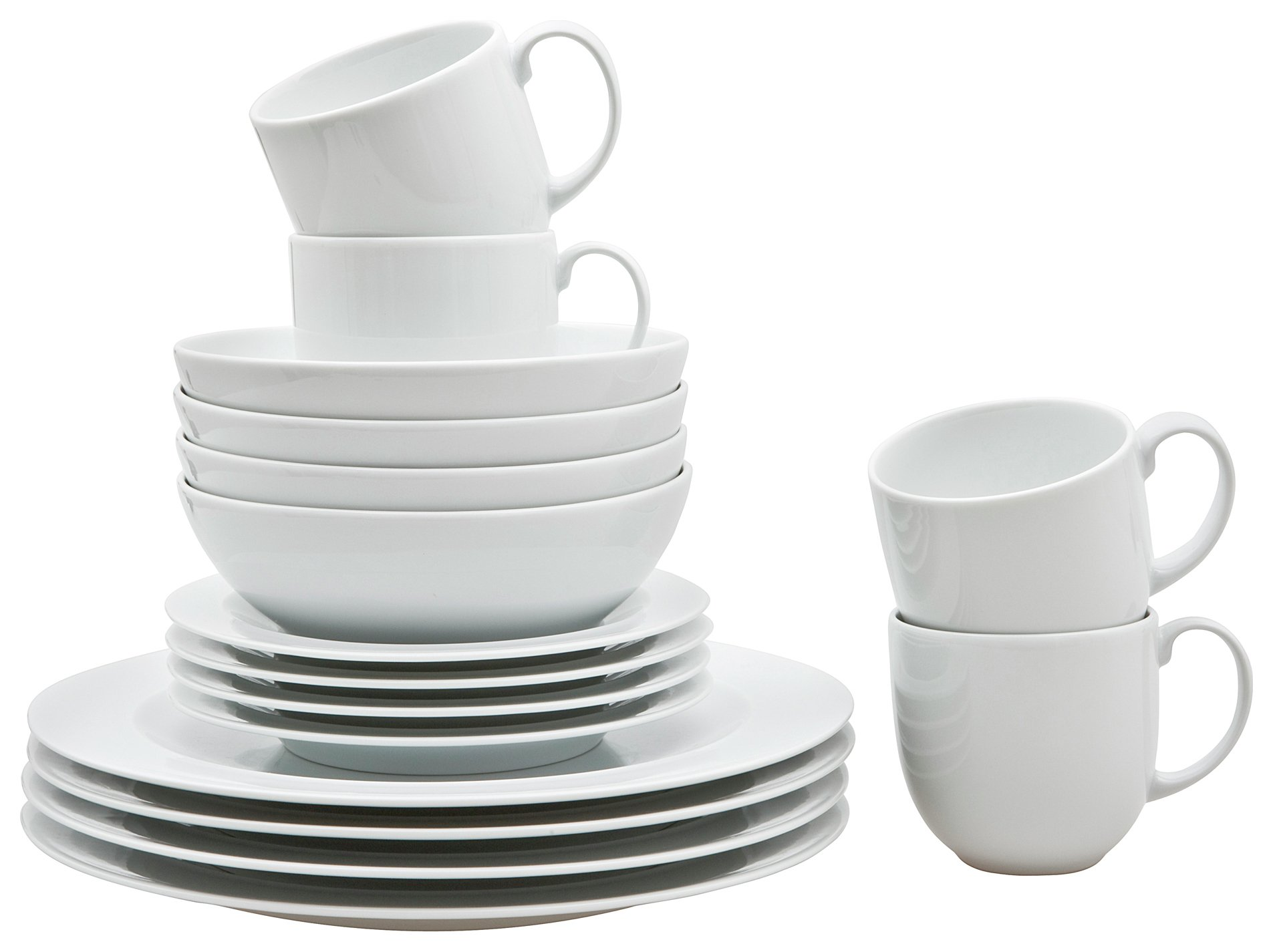 White by Denby - 16 Piece Boxed Dinner Set