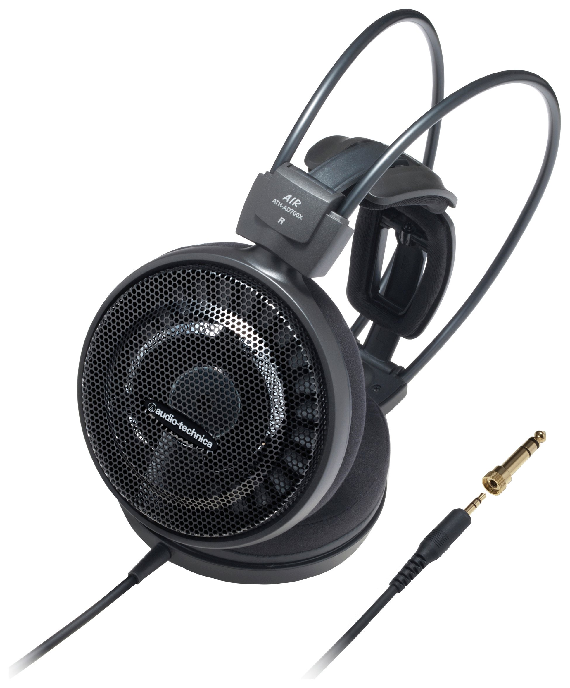 Image of Audio Technica ATH-AD700X On-Ear Headphones - Black.