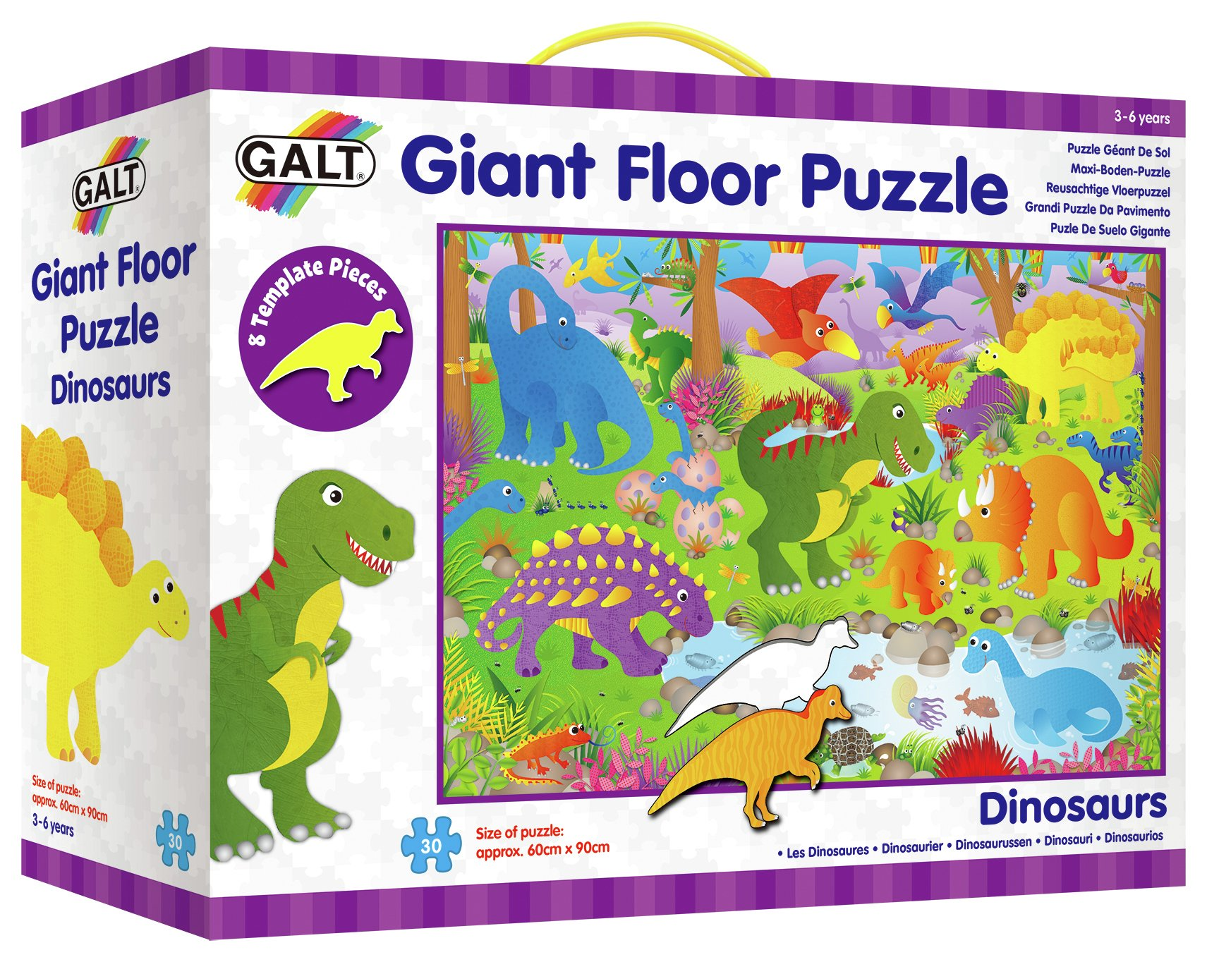 Image of Dinosaurs - Giant Floor Puzzle.