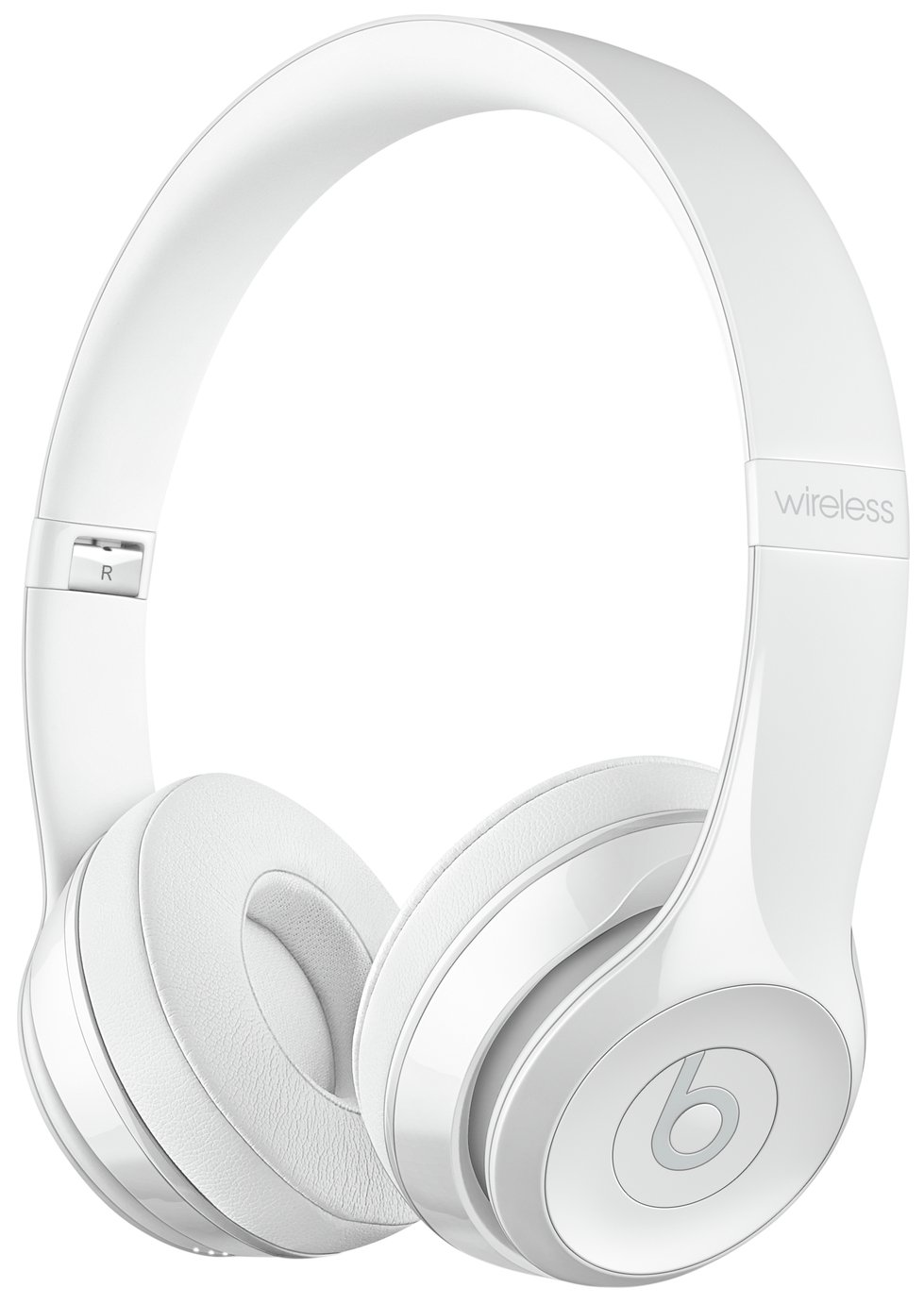 Image of Beats by Dre Solo 3 On-Ear Wireless Headphones - Gloss White