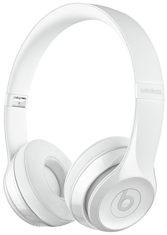 Beats By Dre Beats by Dre Solo3 On-Ear Wireless Headphones - Gloss White.