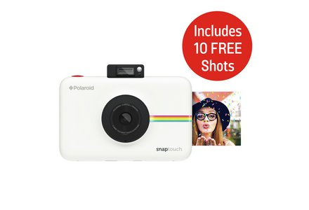 Polaroid Snap Touch Instant Print Camera LCD Screen - White.