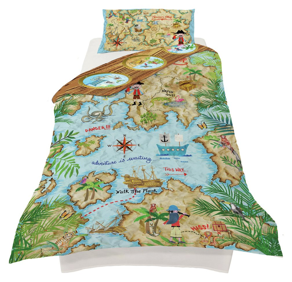 Image of Arthouse Pirates Ahoy Bedding Set - Single