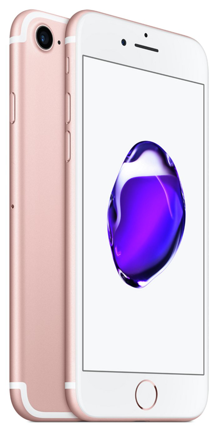 SIM Free iPhone 7 128GB Mobile Phone - Rose Gold