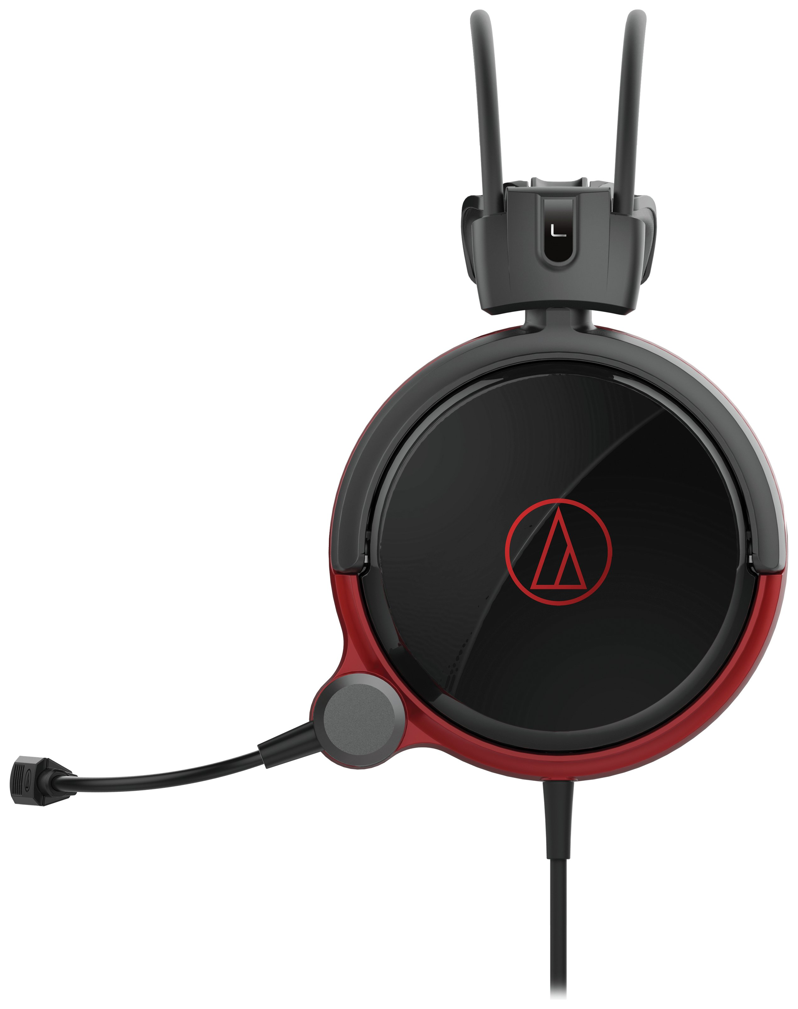 Image of Audio Technica ATH-AG1X Gaming Headset - Black/Red.