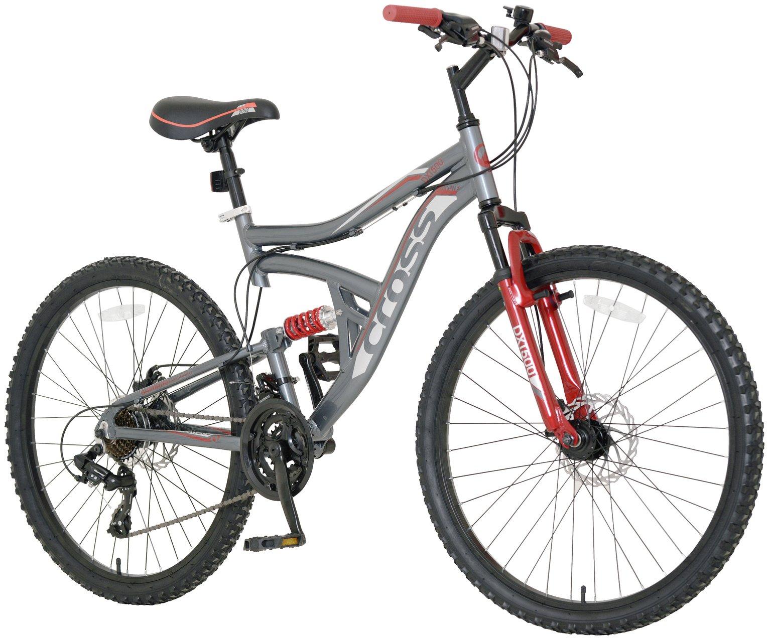 Image of Cross DXT500 Dual Suspension Mountain Bike