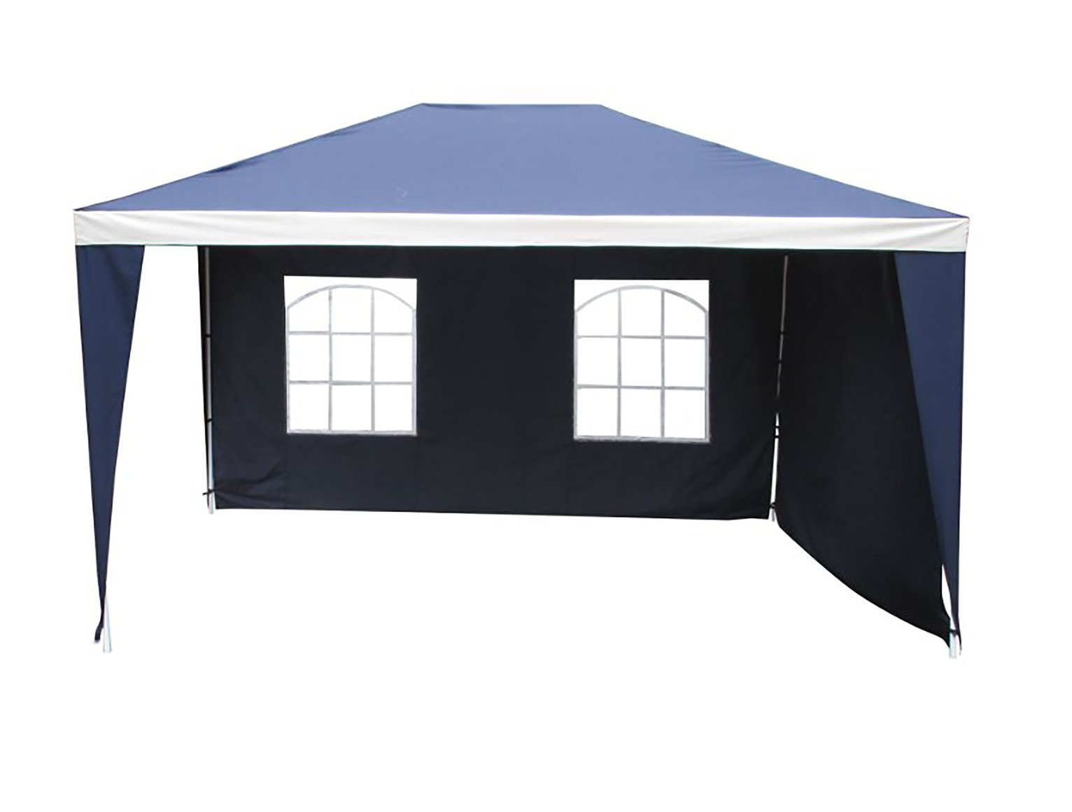 Argos Home 3m x 4m Weather Resistant Gazebo with Side Panels