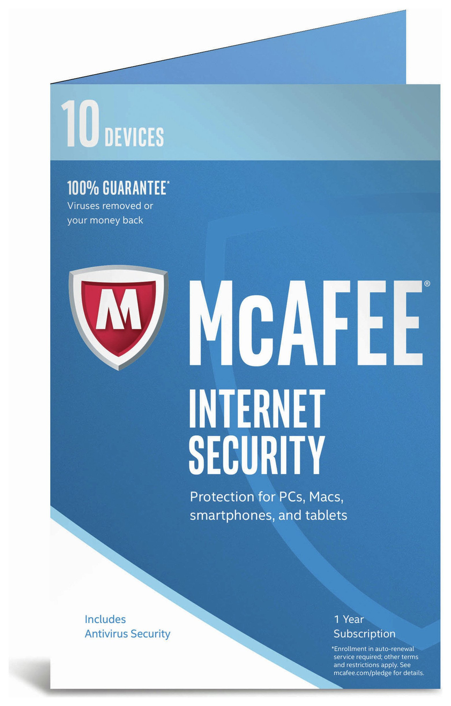 Image of McAfee - Internet Security 2017 - 10 Device