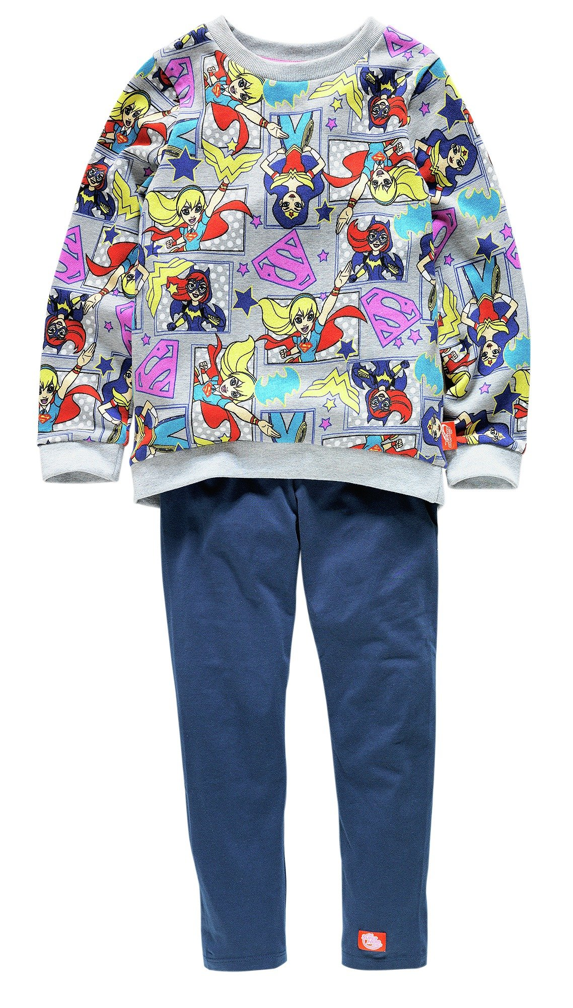 Image of DC Supergirl Sweatshirt & Leggings Set - 5-6 Years