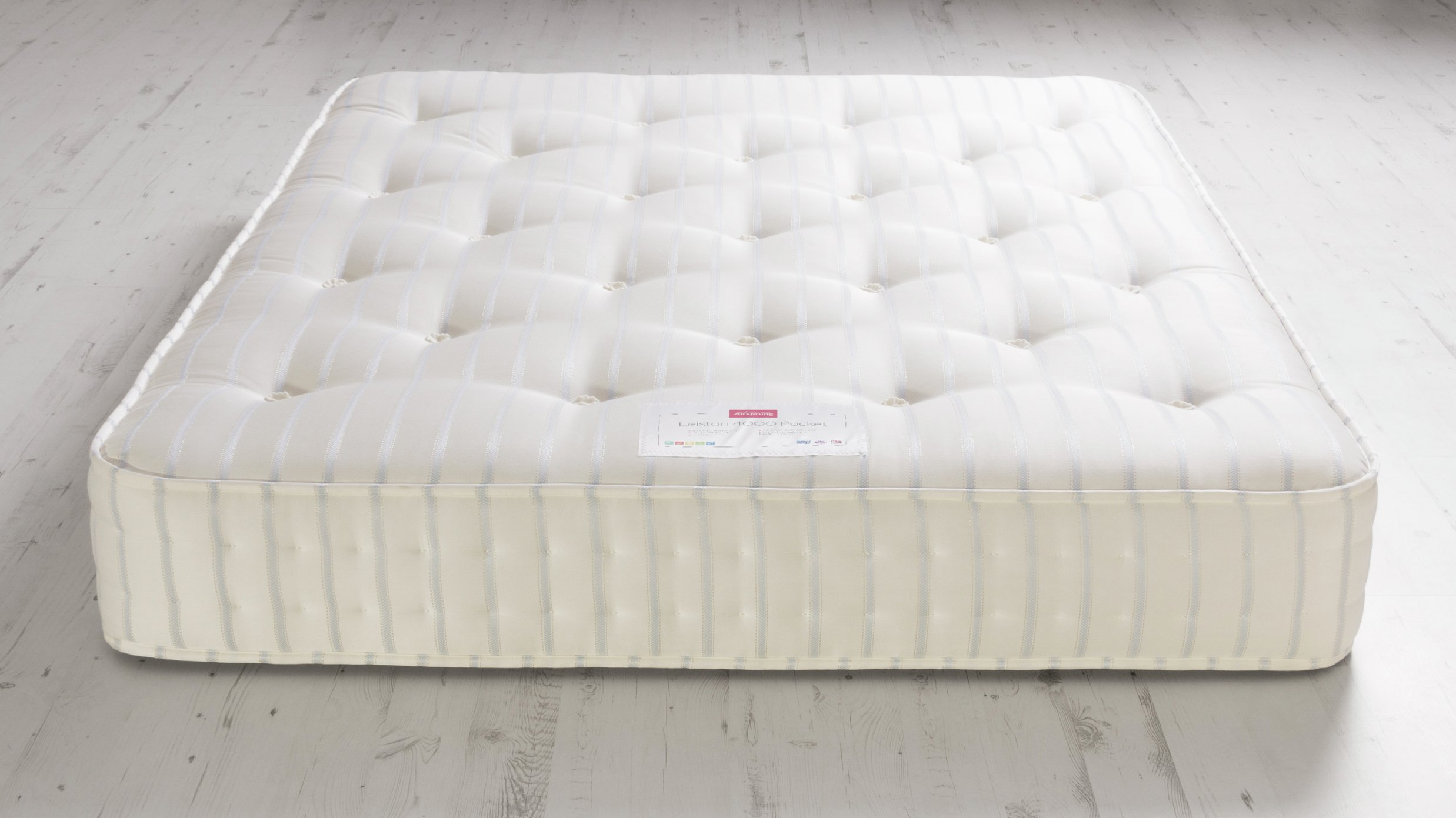 Airsprung Leiston 4000 Pocket Sprung Kingsize Mattress