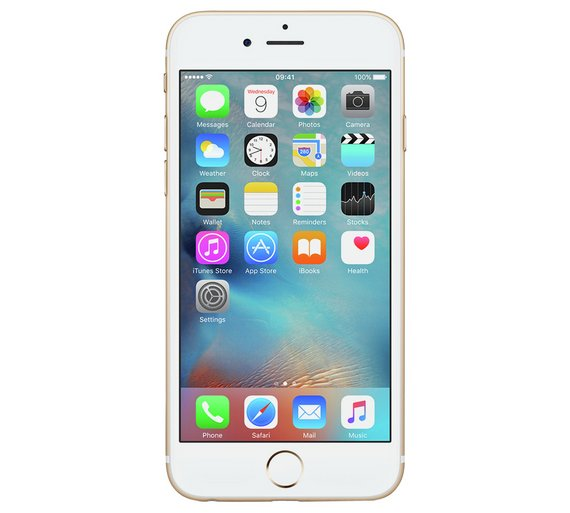 Buy SIM Free iPhone 6s 32GB Mobile Phone - Gold  c1e10bf64d9c9