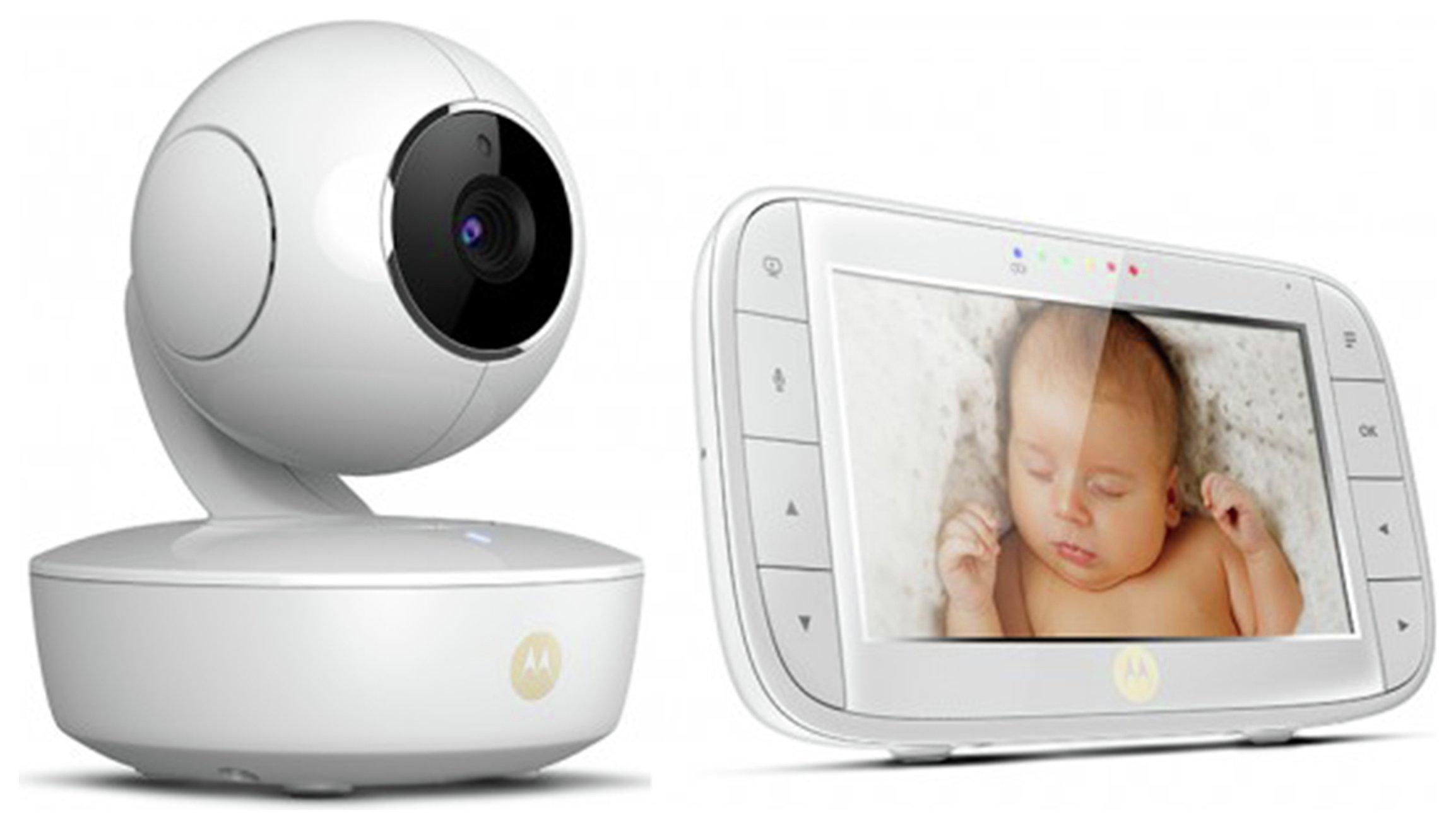 Motorola MBP 50 Video 5 Inch Baby Monitor