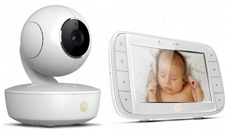 Motorola MBP 50 Video 5 Inch Baby Monitor