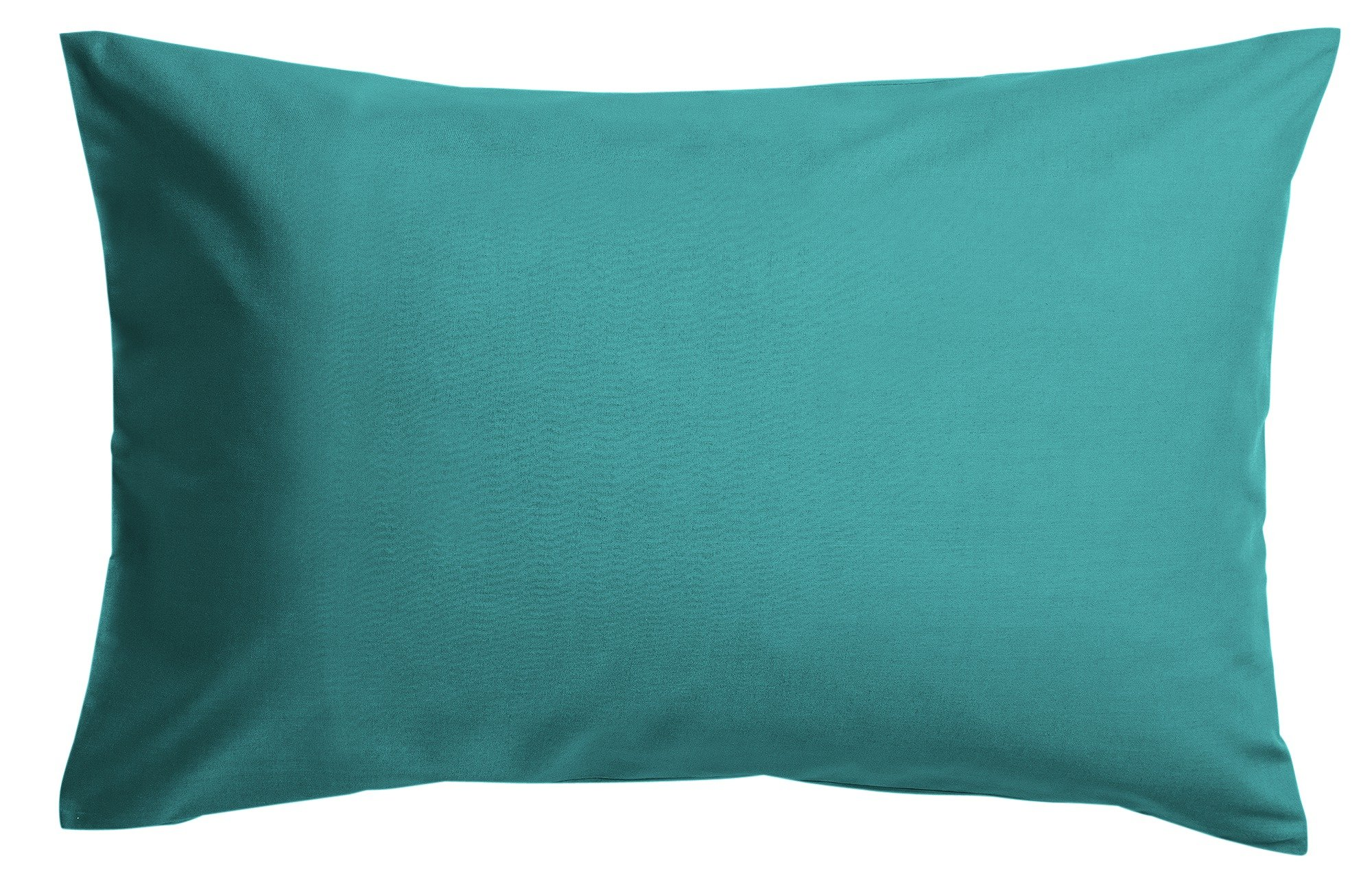 colourmatch pair of housewife pillowcases  teal