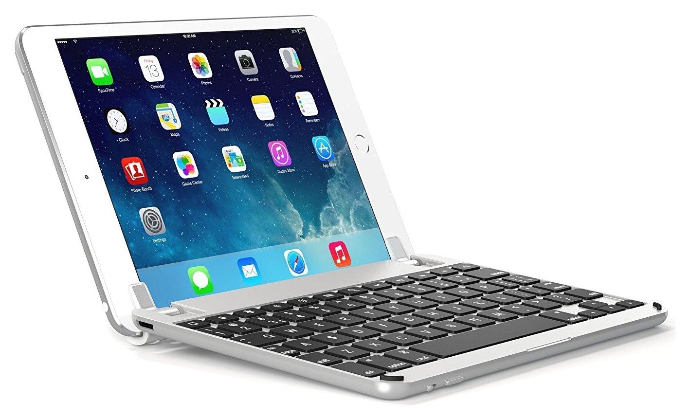 Image of BrydgeAir iPad Air 1/2 Bluetooth Keyboard - Silver.