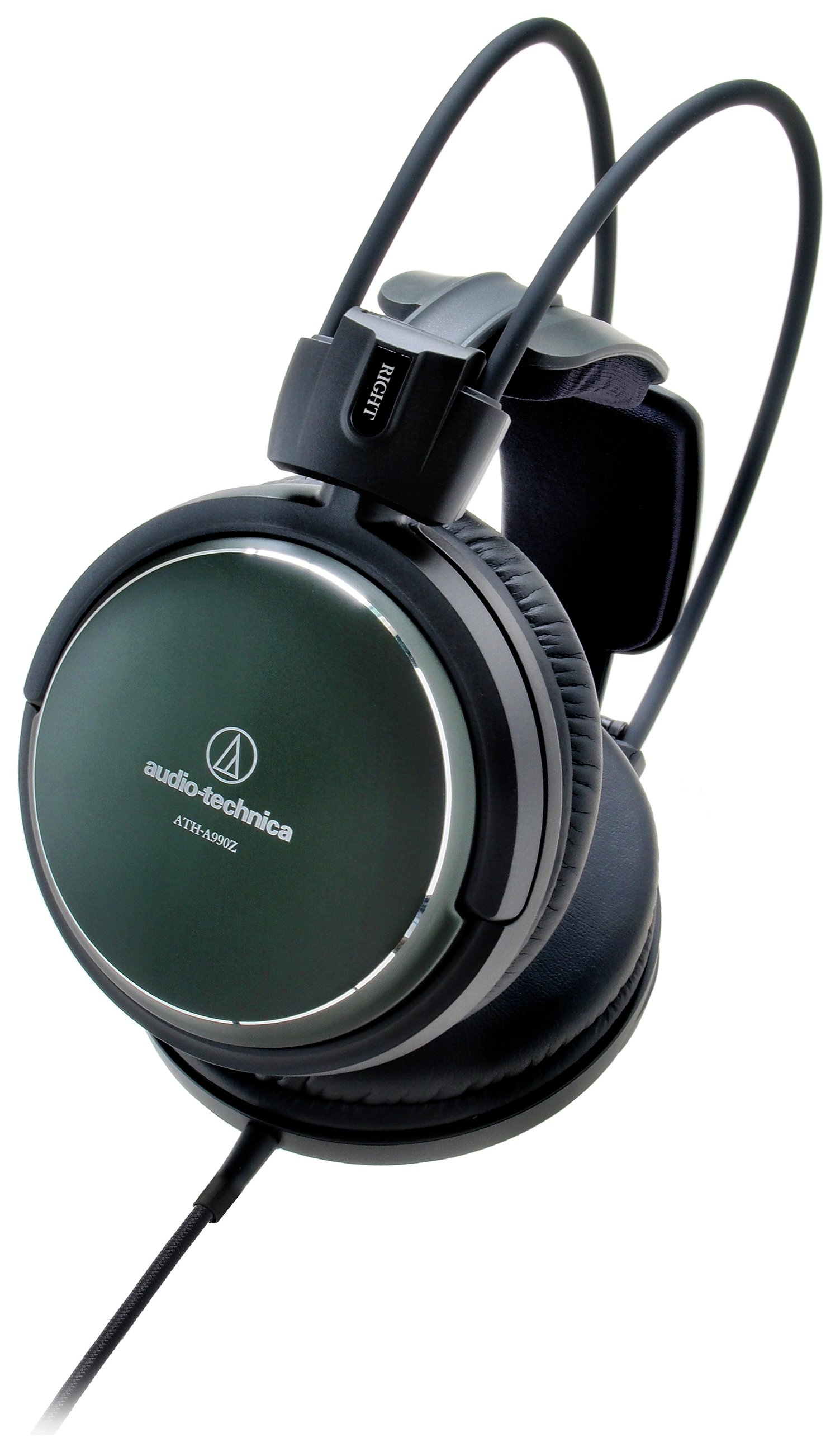 Image of Audio Technica ATH-A990Z On-Ear Headphones - Green.