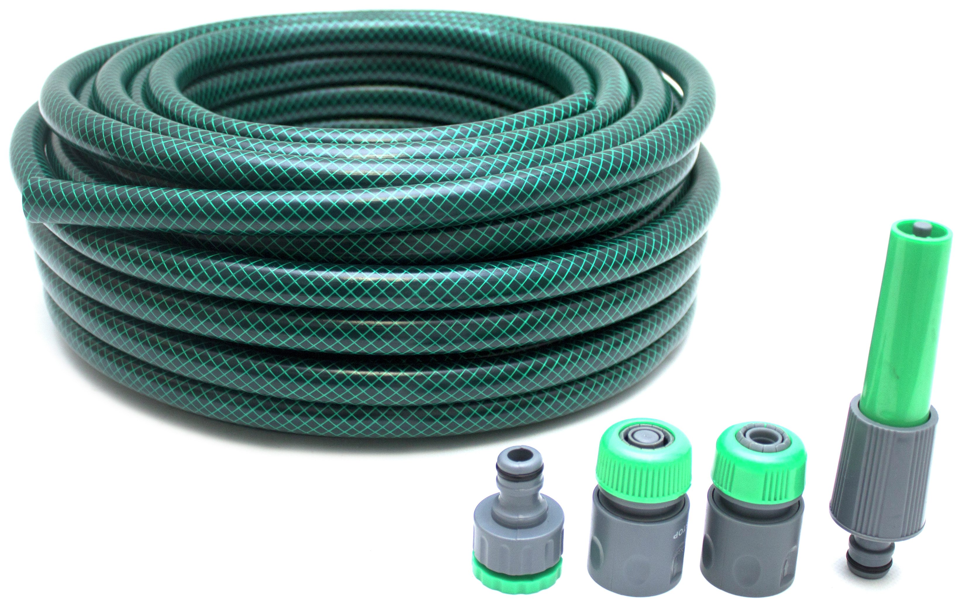 Hose with 4 Connector - 25m