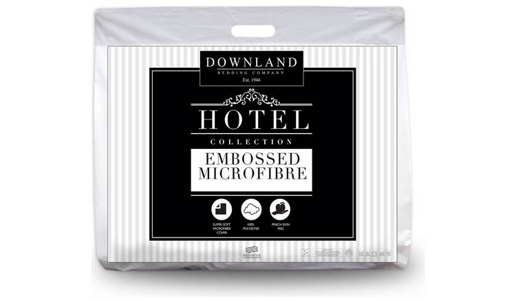 Downland Embossed Soft to Touch 10.5 Tog Duvet - Kingsize.