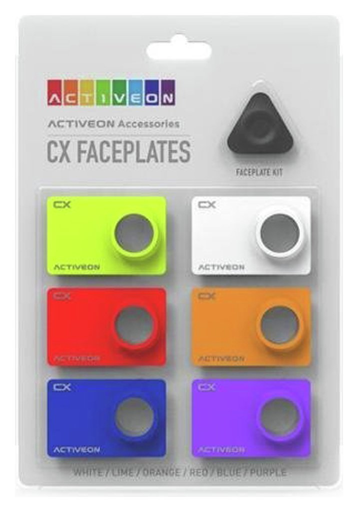 Image of Activeon - CX - Camera Face Plate Colour Kit - 6 Colours