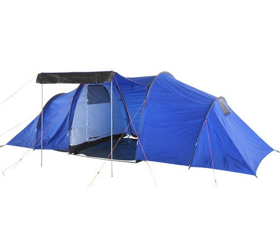 ProAction 6 Man 2 Room Tunnel Tent
