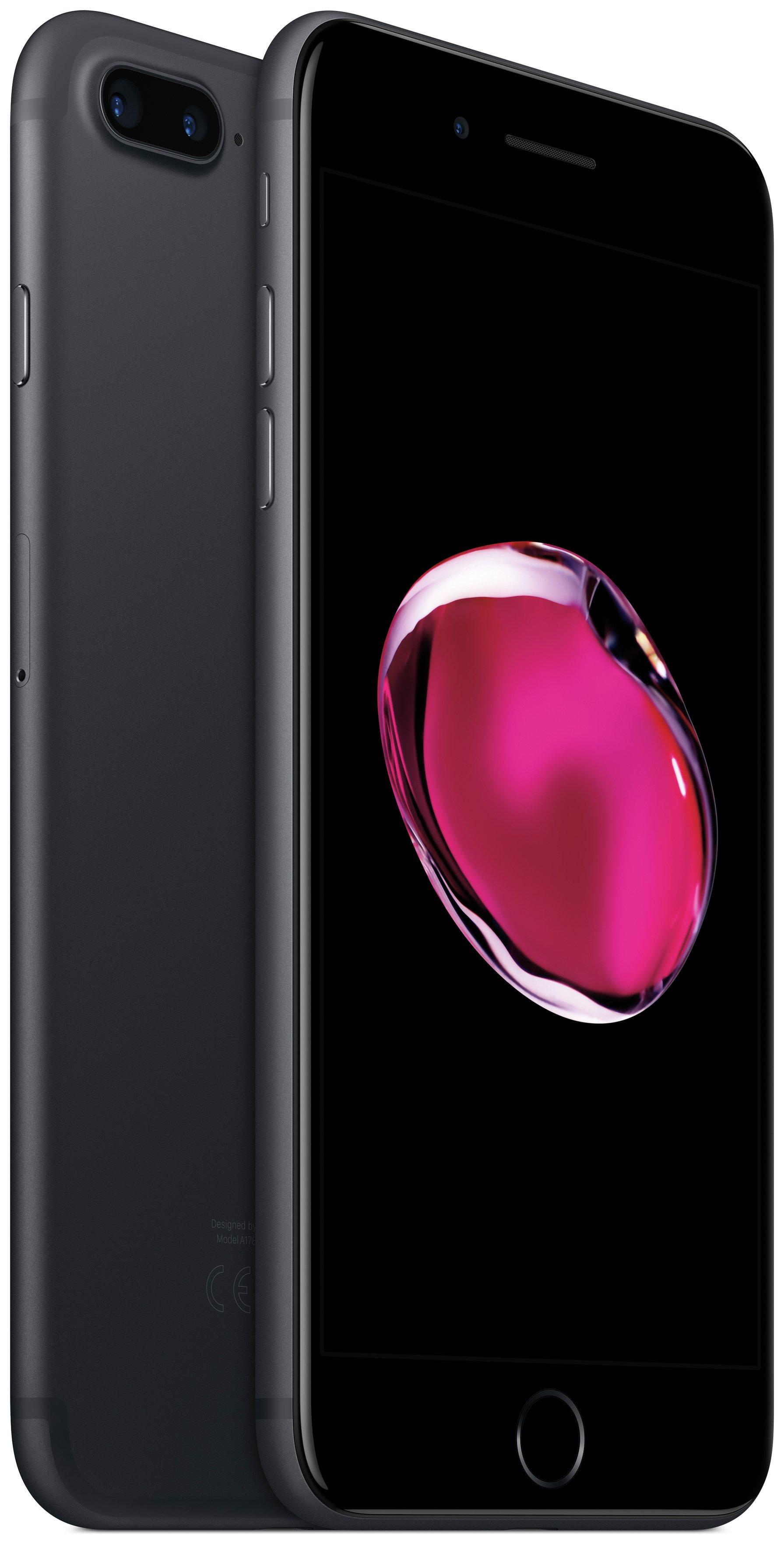 Apple Sim Free iPhone 7 Plus 256GB Mobile Phone - Black.