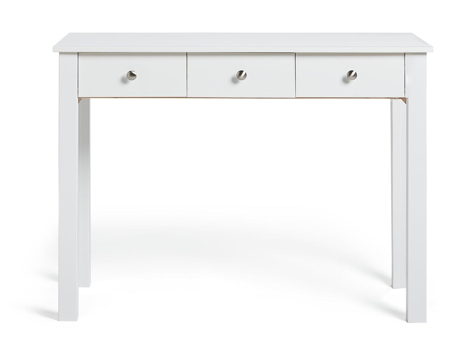 Argos Home Osaka 3 Drawer Dressing Table - White