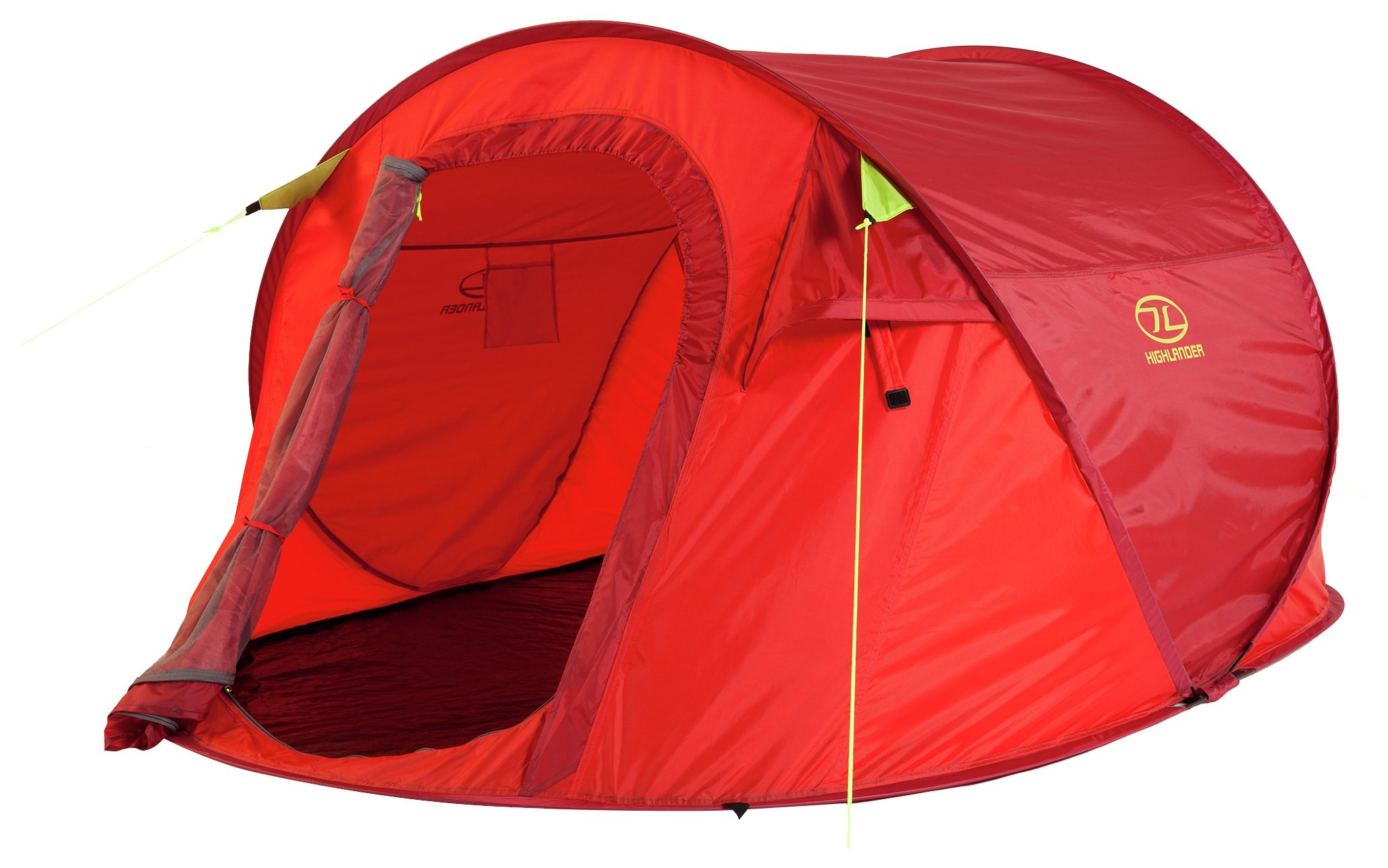 Image of Highlander 3 Man 1 Room Pop Up Tent