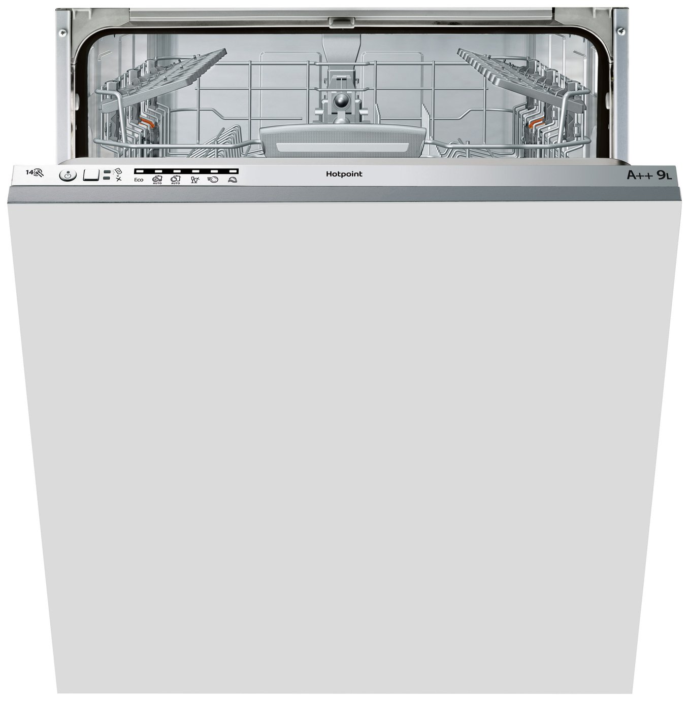 Hotpoint LTB6M126 Built-in Dishwasher - Graphite