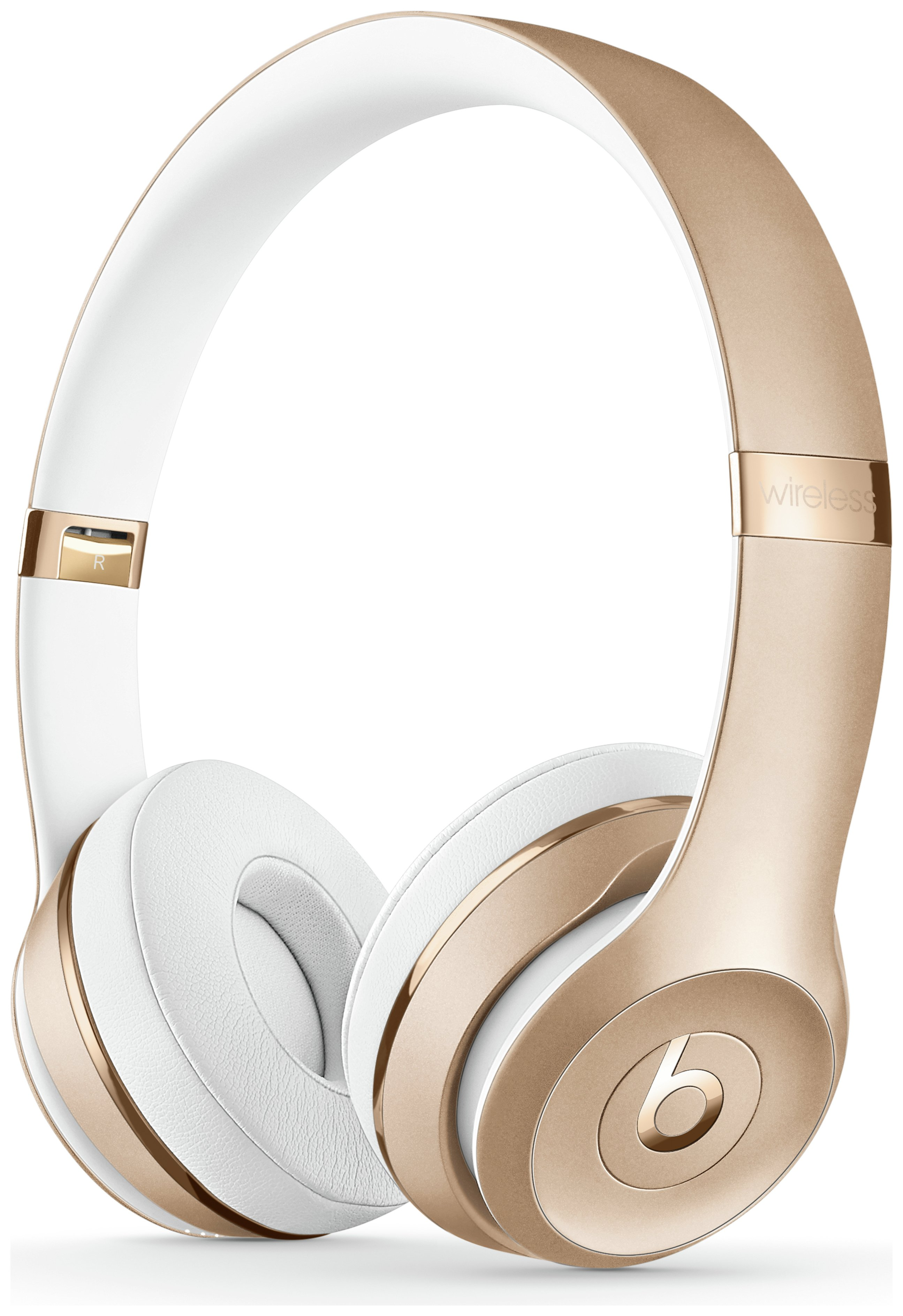 Image of Beats by Dre Solo3 On-Ear Wireless Headphones - White & Gold