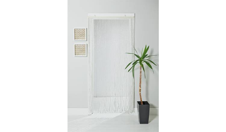 Buy Argos Home Beaded Door Curtain White Curtains Argos