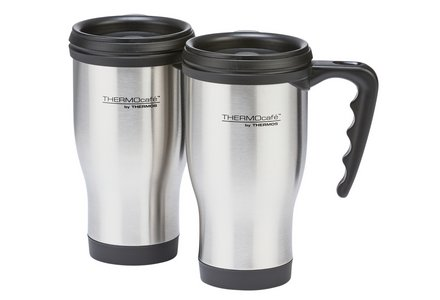 Image of Thermos Pair Of Travel Mugs.