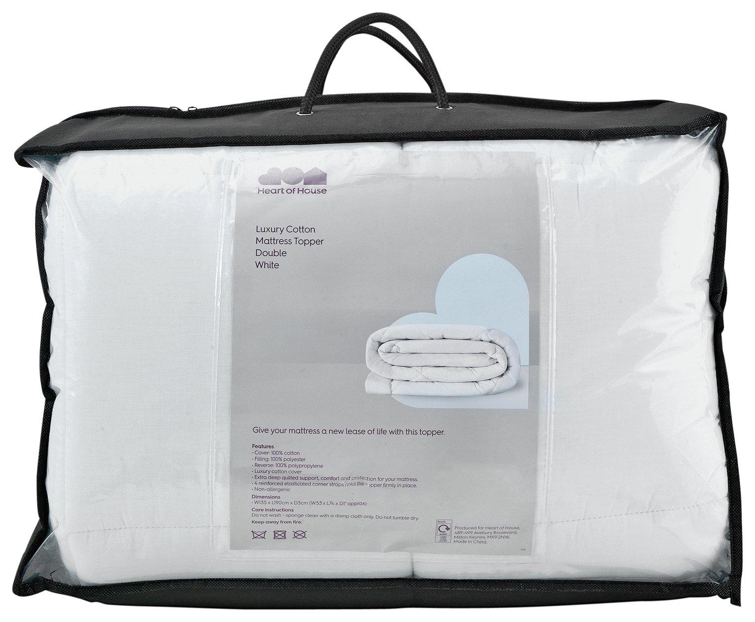 Argos Home 7cm Memory Foam Mattress Topper - Single
