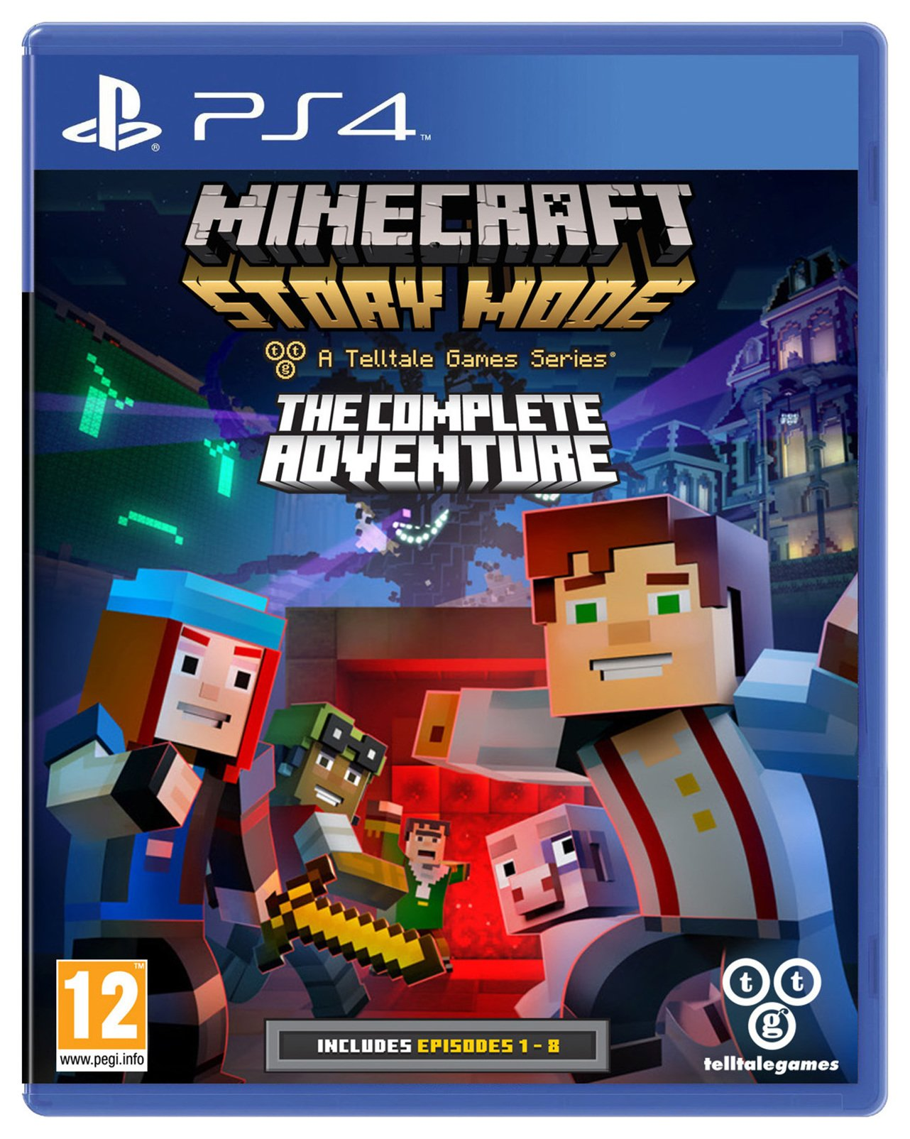 Mojang Minecraft Story Mode Complete Collection - PS4 Game.