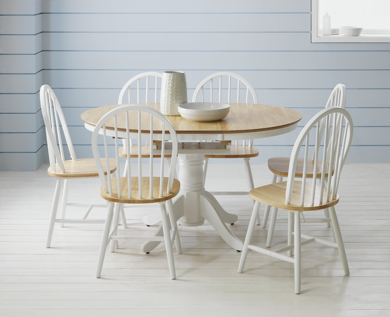 Buy Collection Kentucky Ext Dining Table and 6 Chairs Two  : 6035691RZ001CWebampw570amph513 from www.argos.co.uk size 570 x 513 jpeg 38kB